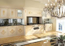 stunning luxury photo kitchen design with classic crystal