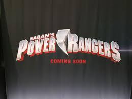 power rangers movie gets a logo nerd reactor