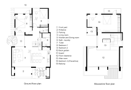 ground floor plan gallery of house râu arch 23
