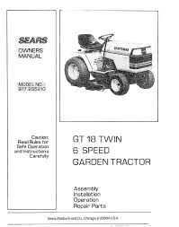 sears lawn mower 917 25591 user guide manualsonline com