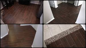 Ceramic Tile To Laminate Floor Transition Wood Look Tile Everything You Want To Know Woodlooktile Youtube