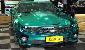 sale colored chrome blue car wrap vinyl of car paint