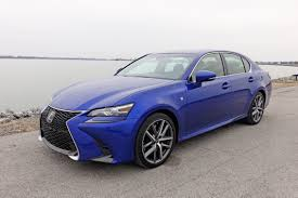 sporty lexus blue 2017 lexus gs 350 f sport review