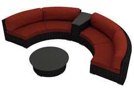 Round Outdoor Sofa Living Room Curved Sectional Curved Couches Sofa Curved