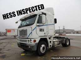 used 2003 freightliner argosy single axle cab over sleeper for