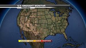 Us Drought Map Us Droughtmonitor Jpeg