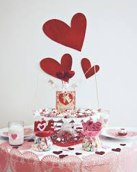 Valentine Home Decorations Table Decorations For Valentines Day Home Design Ideas