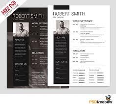 best free resume template top designer resume template psd free 25 best free resume