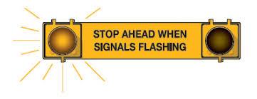 What Does A Flashing Yellow Light Mean Sgi Driver U0027s Handbook Traffic Signals