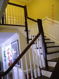 Banister Repair Wood Stairs And Rails And Iron Balusters Install Repair Replace
