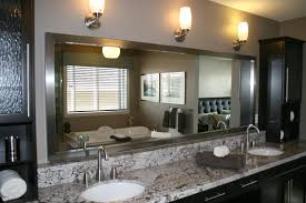 Custom Bathroom Mirror Custom Bathroom Vanity Mirrors Alphatravelvn