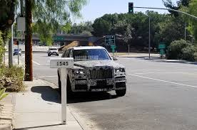 rolls royce cullinan vs bentley bentayga spied rolls royce cullinan caught testing in california car
