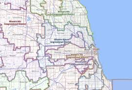 Evanston Illinois Map by Support Science