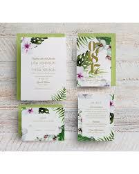 tropical wedding invitations savings on tropical wedding invitations hawaii wedding invitations