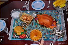 thanksgiving accion de gracias world in miniature