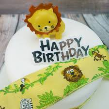safari cake toppers jungle safari animal cake toppers