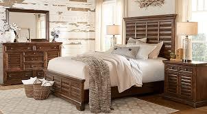 cindy crawford bedroom set cindy crawford home north haven brown 5 pc queen panel bedroom