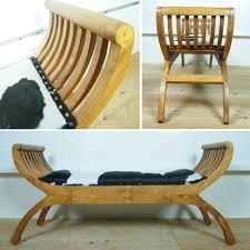 Natural Wood Furniture by Kanmuryou Rakuten Global Market Cartinichair Cowskin Two Seat