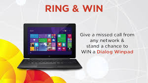 stand a chance to win a dialog winpad youtube