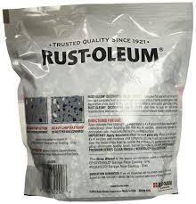 rust oleum 301359 decorative color chips gray blend 1lb