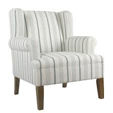 chairs front right striped accent chair with arms homepop