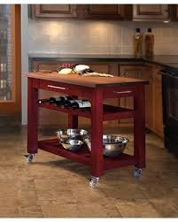 kitchen mobile islands deals on metro mobile kitchen island with solid walnut top base