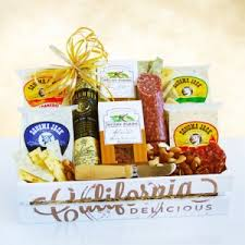 german gift basket california fresh creamery gourmet gift basket california delicious