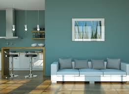 Blue Color Living Room Designs - best color for walls in living room including paint ideas gallery