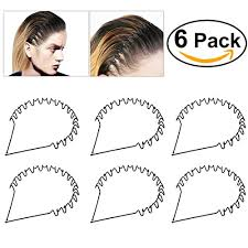 hair bands for men hair accessories bestoyard hair hoop band black wavy metal hoop