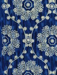 home decor print fabric iman mythical medallion lapis joann