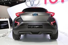 honda chr toyota c hr concept confirmed for production in frankfurt