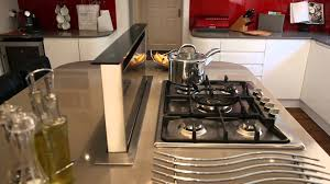 kitchen island extractor fan kitchen technology extractor fan youtube
