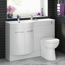 Combination Vanity Units For Bathrooms by Serene 1200mm Left Hand Basin Vanity Unit And Btw Toilet 399 99