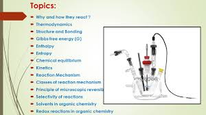 physical organic chemistry ch 2 reactivity prepared by dr khalid