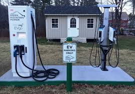 Charging Shelf Station by Northshire Debuts Electric Vehicle Charging Station Shelf Awareness