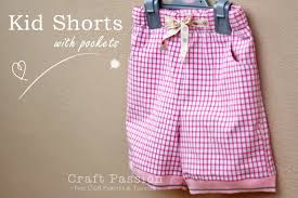 paper bag toddler shorts pattern kid shorts free sewing pattern tutorial craft passion