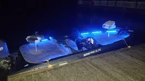 pontoon boat led light kits bass boat led lights youtube
