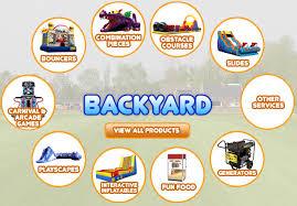 New England Backyards by Innovative Inflatables Ct Ma Ny New England Backyard