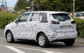 opel meriva 2017 opel meriva sheds more camo in latest spy shots
