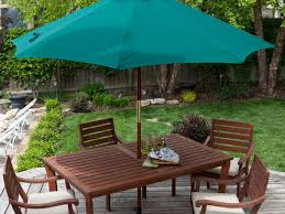 Patio Chairs At Walmart by Patio 58 Yellow Patio Umbrellas Walmart With Four Chair And