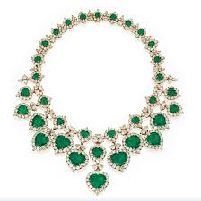 heart shaped emerald necklace images 1675 best joyas collares necklaces images diy jpg
