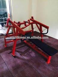 Buy Flat Bench Fitness Machine Hammer Strength Press Chest Flat Bench Gym
