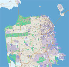 san francisco map detailed scalablemaps royalty free editable vector maps of the world