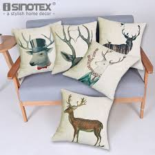 moose cushion cover promotion shop for promotional moose cushion