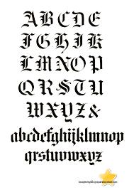 imagenes goticas letras letras góticas mayúsculas y minúsculas para imprimir imagui