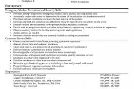 Paramedic Resume Sample by Firefighter Resume Samples Firefighter Paramedic Resume Examples