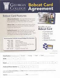 robert huber associates georgia college bobcat card