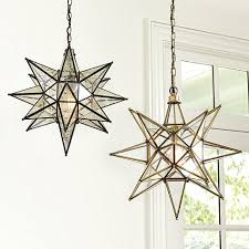 Star Light Chandelier Fancy Star Chandelier In Interior Home Inspiration With Star