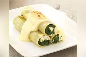 cuisine epinard cannellonis épinard feta sauce boursin