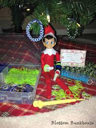 Buddy The Elf Christmas Decorations Elf On The Shelf Mini Rainbow Loom Bracelet
